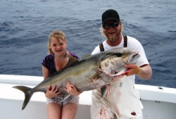 Daytona florida deep fishing charter trip ebay world for Deep sea fishing daytona